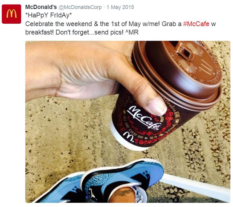 McCafe and a Smile
